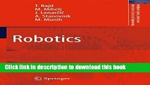 New Book Automation for Robotics (Control, Systems and