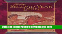 Read JENNEY S SECOND YEAR LATIN GRADES 8-12 TEXT 1990C  Ebook Free