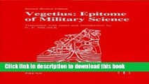 Download Books Vegetius: Epitome of Military Science (Translated Texts for Historians LUP) ebook