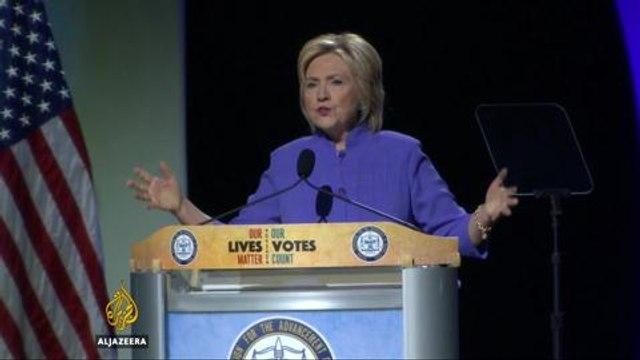 US election: Clinton revives calls for criminal justice reform