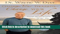 Read Change Your Thoughts - Change Your Life: Living the Wisdom of the Tao Ebook Free