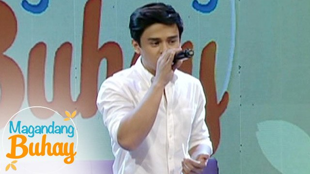 """Magandang Buhay: Khalil Ramos sings """"Drive"""""""