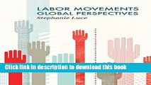Download Labor Movements: Global Perspectives (Social Movements)  Ebook Online