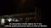 Allemagne: un jeune Afghan attaque et blesse quatre personnes