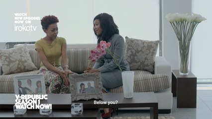 "Joselyn Dumas Advices Her Client About A Case In ""V Republic"" [1/4]"