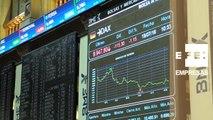 La Bolsa española mantiene las pérdidas a mediodía y se aleja de los 8.500 puntos