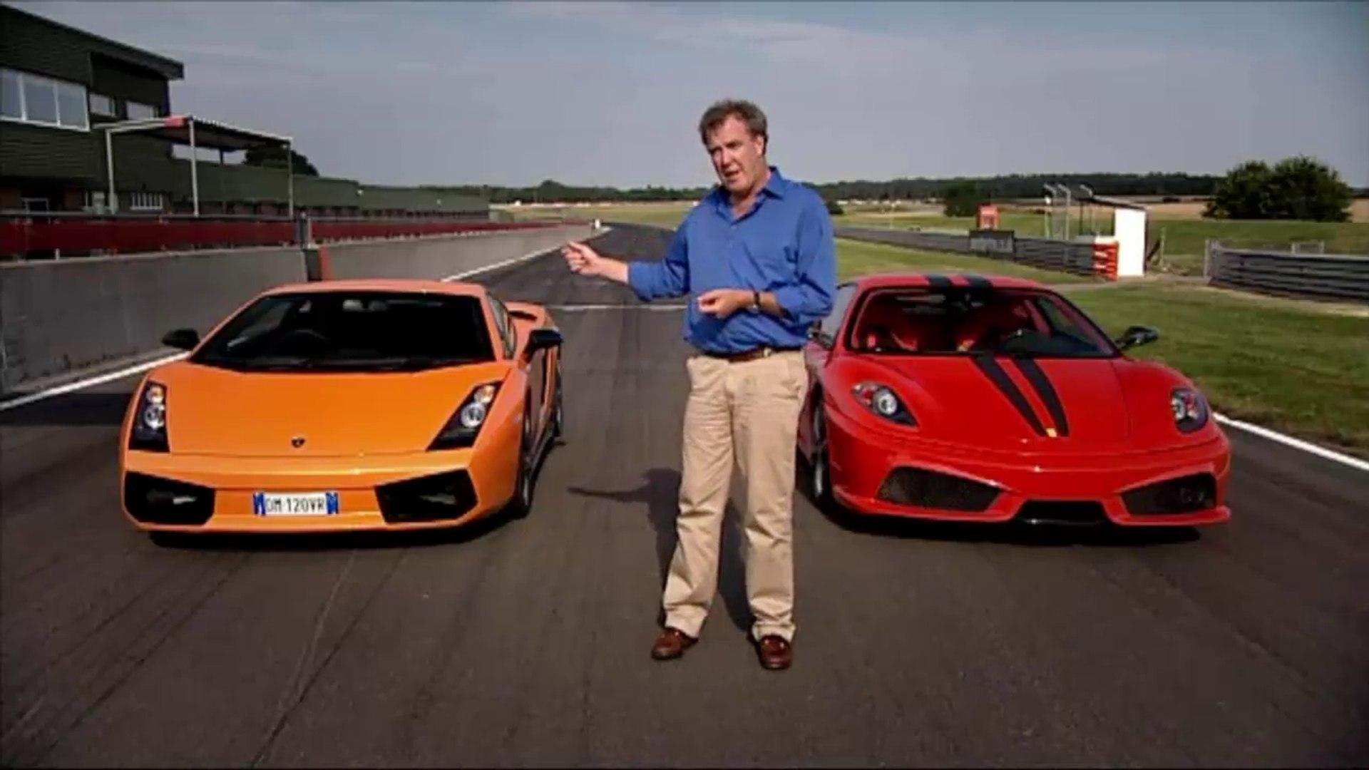 Lamborghini Gallardo Vs Ferrari F430 Jeremy Clarkson Show Video Dailymotion