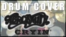 Drum cover #12: Aerosmith - Cryin' (drumless track)