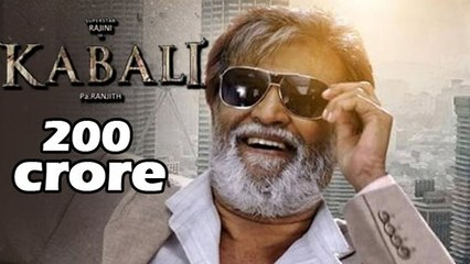 Rajinikanth's Kabali Collects Rs 200 Crore Before Release
