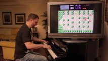 Il joue au piano les musiques de Zelda pendant le jeu !
