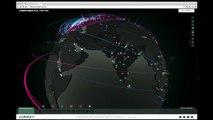 Conoce los ciberataques en el mundo en tiempo real con este mapa