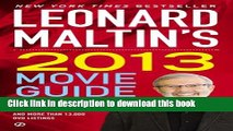 Read Leonard Maltin s 2013 Movie Guide: The Modern Era (Leonard Maltin s Movie Guide (Mass