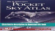 Read Sky   Telescope s Pocket Sky Atlas  PDF Free