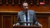Bruno Retailleau rend hommage à Myriam El Khomri avant d'éreinter la loi Travail