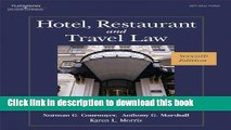 Download Hotel, Restaurant, and Travel Law, 7th Edition  PDF Online