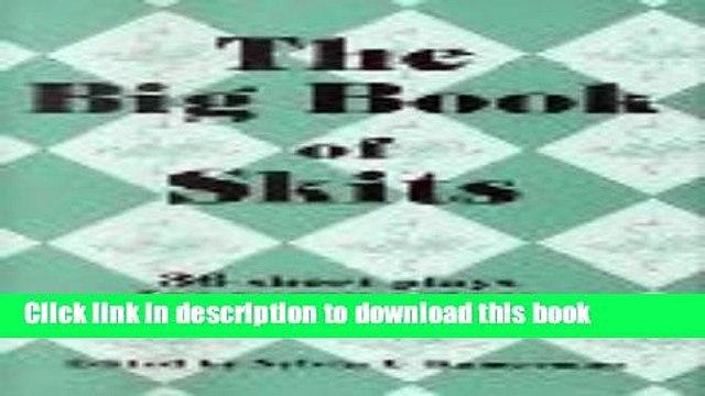 Pdf] the big book of skits: 36 short plays for young actors [read.
