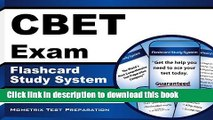 [PDF] CBET Exam Flashcard Study System: CBET Test Practice Questions   Review for the Certified