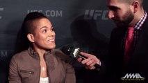 UFC 196: Amanda Nunes Amanda Nunes not impressed with opponent Valentina Shevchenko