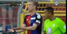 1-2 Marc Janko Goal - Basel 1-2 Wolfsburg - 19-07-2016