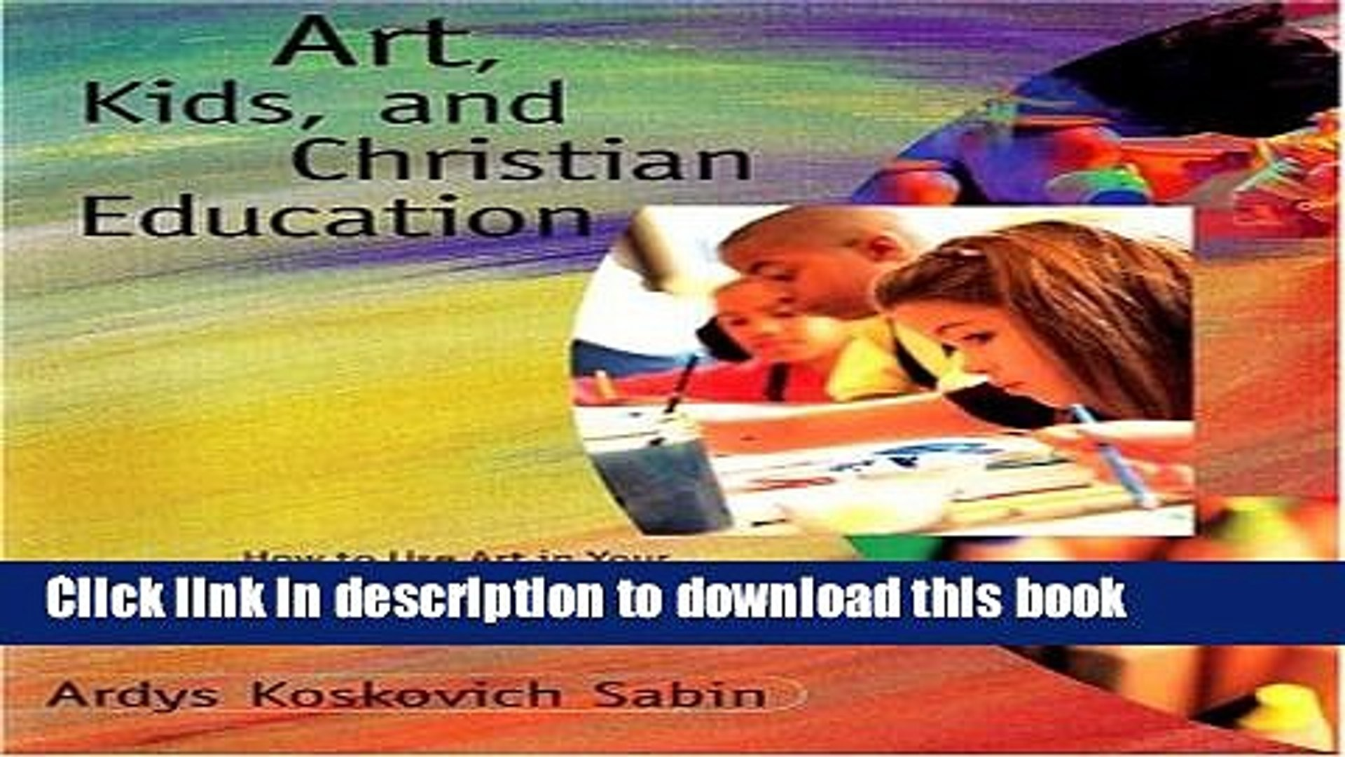 Download Art Kids and Christian Education  Read Online
