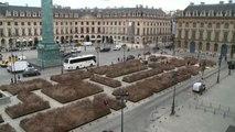 Spighe di grano a Place Vendome: è un'installazione d'arte
