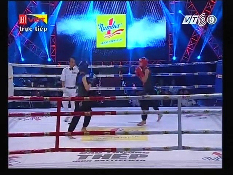 VÕ CỔ TRUYỀN 16/7/2016 Trận 3 : Võ Thị Hồng Vân (Khánh Hòa) VS Thạch Kim Duyên (Tây Ninh)