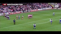 David Beckham | All Free Kicks For Manchester United