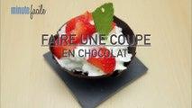 Cuisine : Recettes de coupe au chocolat chantilly et Mikado maison