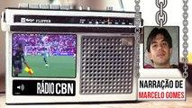 Gol de Erik - Narração - Marcelo Gomes (Rádio CBN) Internacional 0 x 1 Palmeiras - Brasileirão 2016