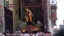 PROCESIÓN DE LA VIRGEN DEL CARMEN 2016