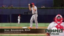 Max Scherzer, RHP, Washington Nationals,Pitching Mechanics at 200 FPS