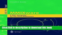 Read MMIXware: A RISC Computer for the Third Millennium (Lecture Notes in Computer Science)  Ebook