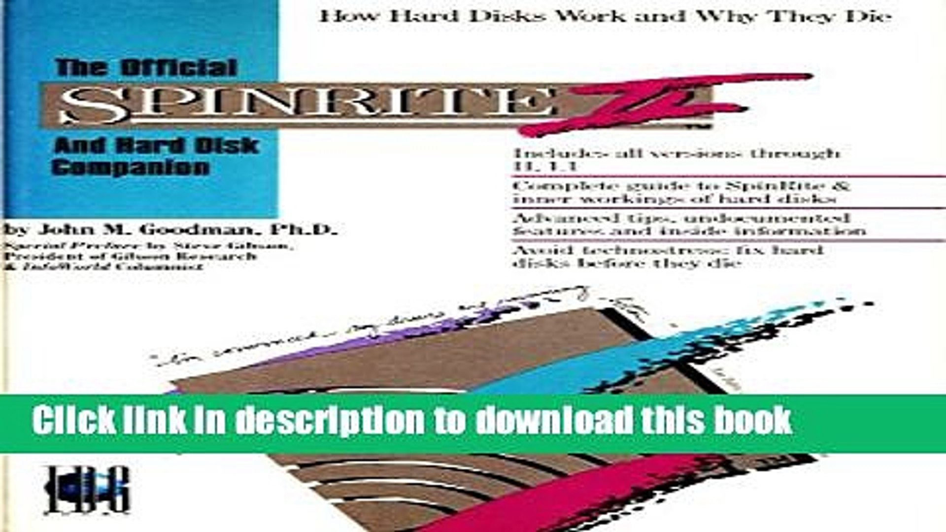 Read Official Spinrite II and Hard Disk Companion: How Hard Disks Work and Why They Die  Ebook