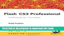 Download Adobe Flash CS3 Professional Hands-On Training Ebook Online
