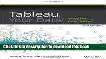 Read Tableau Your Data!: Fast and Easy Visual Analysis with Tableau Software  Ebook Online