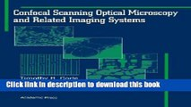 Download Confocal Scanning Optical Microscopy and Related Imaging Systems  Ebook Online