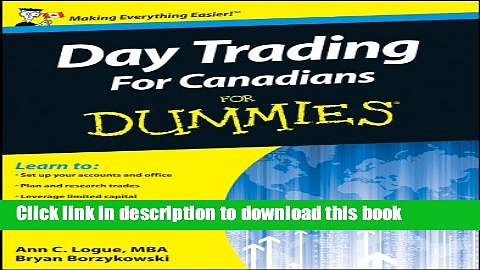 Read Day Trading For Canadians For Dummies  PDF Free