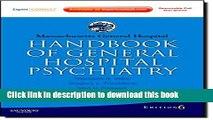 Read Book Massachusetts General Hospital Handbook of General Hospital Psychiatry: Expert Consult -