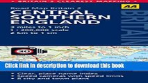 Read Central Southern England Road Map (AA GB2) (Aa Road Map Britain)  Ebook Free