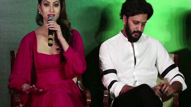 Urvashi Rautela Crying ! Get's Emotional ! Great Grand Masti Movie Leaked Press Conference ! News Adda
