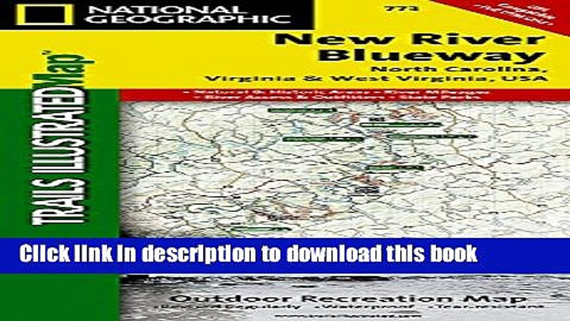 Read New River Blueway (National Geographic Trails Illustrated Map)  Ebook Free