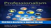 Read Professionalism: Skills for Workplace Success Plus NEW MyStudentSuccessLab -- Access Card