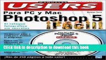 Read Photoshop 5 Facil En Colores, Para PC y Mac, Con CD-ROM: Manuales Users, en Espanol / Spanish