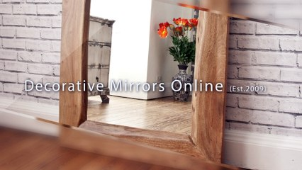 Contemporary Mirrors - Decorative Mirrors Online  - UK Mirror Specialists