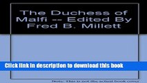 Read The Duchess of Malfi  PDF Online
