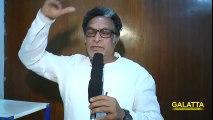 Actor Nassar Speaks About Voice To The BFG Tamil Version