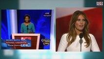Copie du discours de Melania Trump sur Michèle Obama en 2008 !