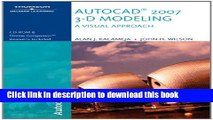 Read Autocad 2007 3-D Modeling, a Visual Approach Ebook Free