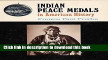 Read Book Indian Peace Medals in American History E-Book Download