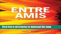 Download Bundle: Entre Amis, 6th + Student Activities Manual + Premium Web Site Printed Access